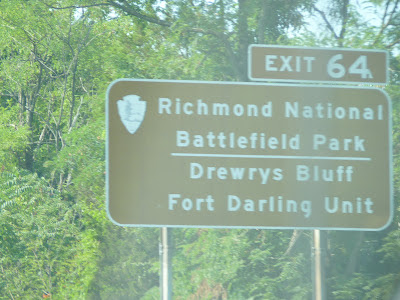 Richmond battle field