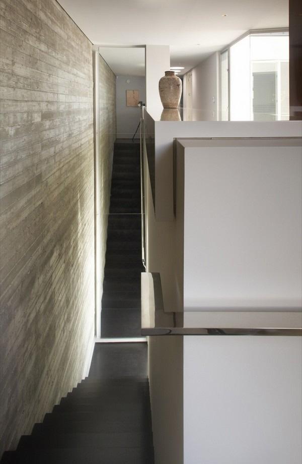 Casas minimalistas y modernas muros de hormigon en casas minimalistas - Muros de hormigon ...