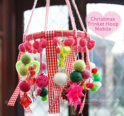 http://carinascraftblog.wardi.dk/2013/11/tutorial-christmas-trinket-hoop-mobile.html