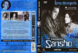 El intendente Sansho (1954) - Carátula