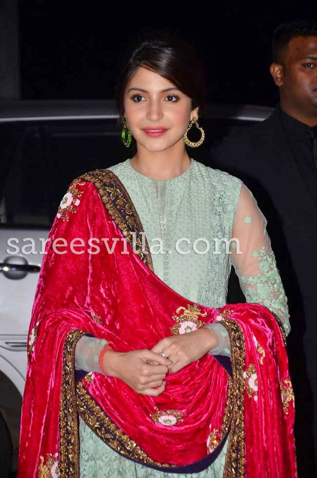 Anushka Sharma In Sabyasachi