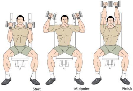Shoulder press diagram