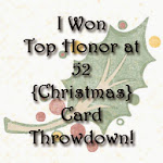 52 {Christmas} Card Throwdown Badge