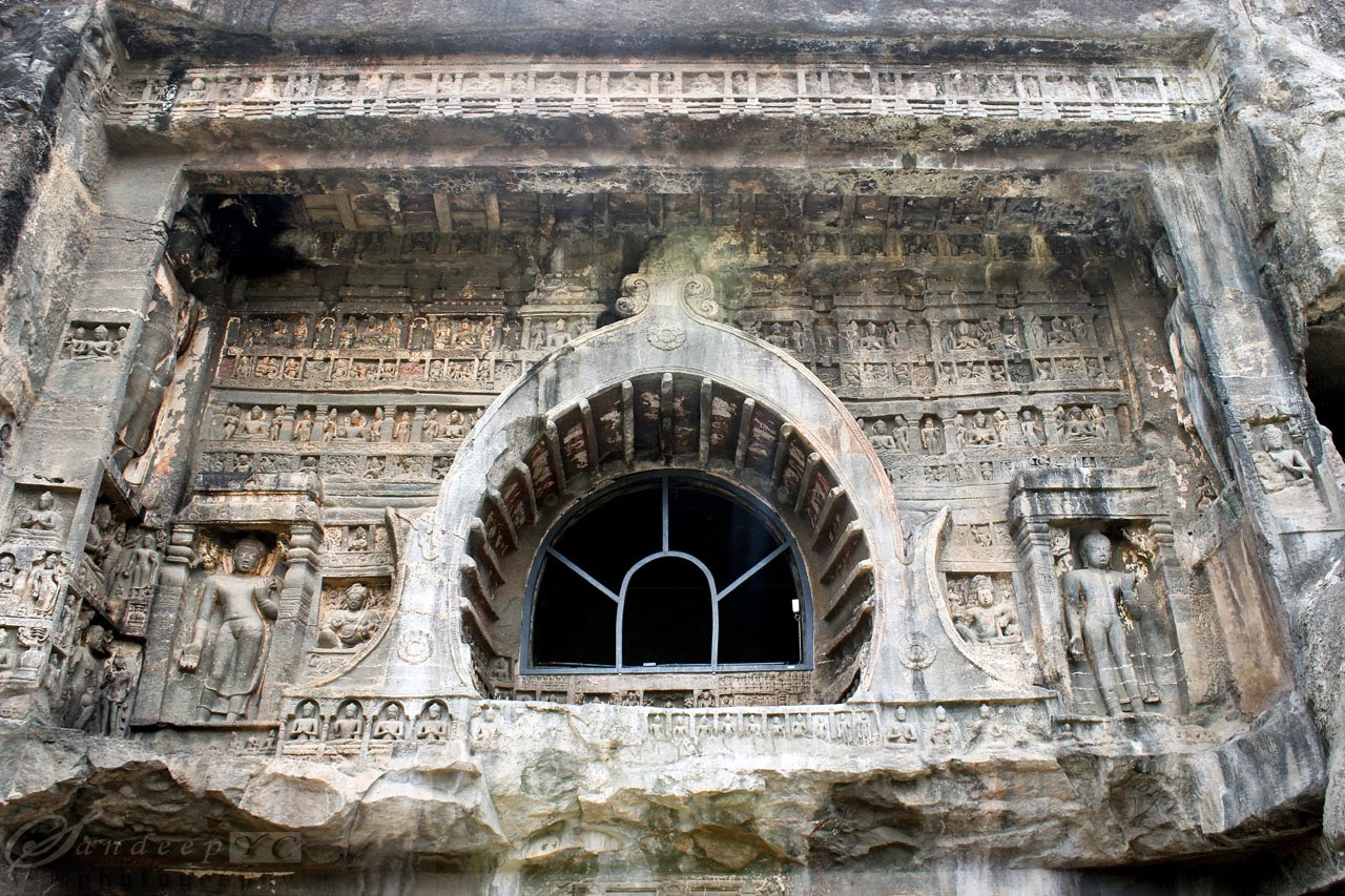 The Amazing facade of the cave 26