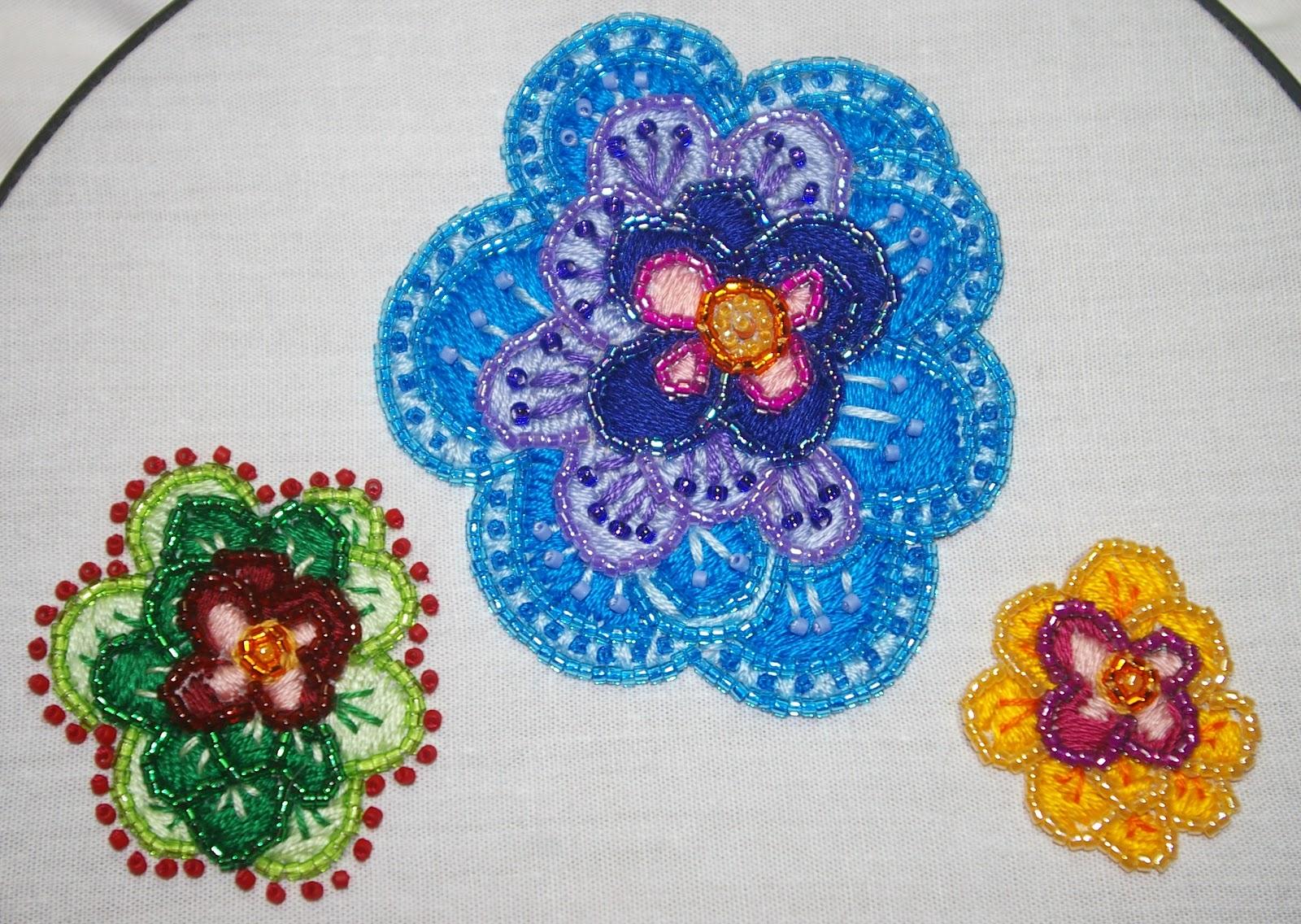 Bead embroidery patterns makaroka