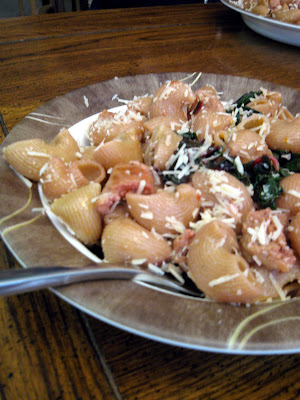 spin on the traditional pasta with sausage and broccoli rabe
