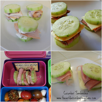 Cucumber%2BSandwiches Weight Loss Recipes 15 Protein Packed Portable Healthy Snacks (or Lunch)