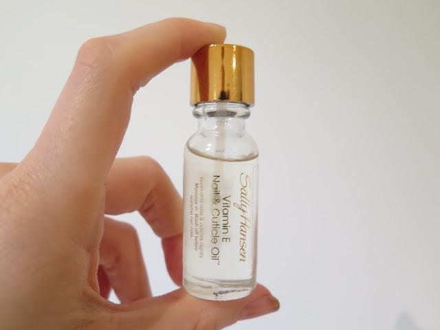 Sally Hansen Vitamin E cuticle oil