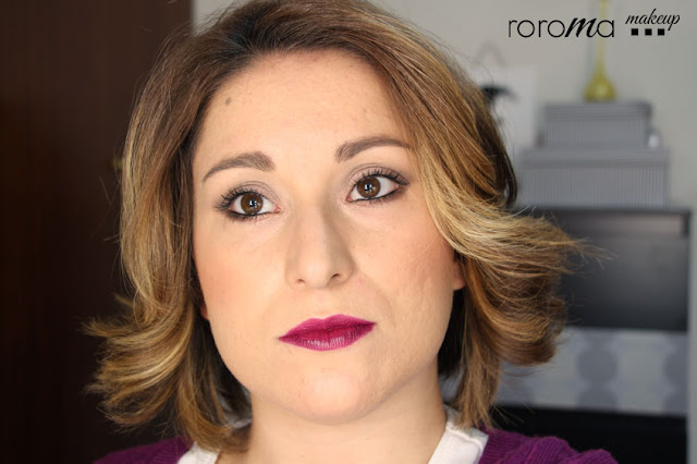 roroma makeup - blog de belleza: peinado fácil con puntas hacia