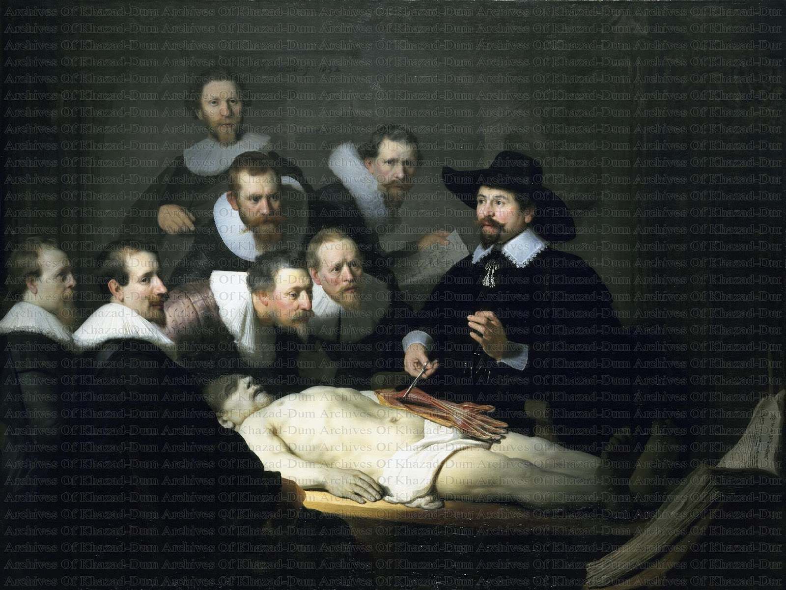 The anatomy lesson rembrandt