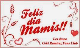 ¡muy feliz día a todas las mamis!