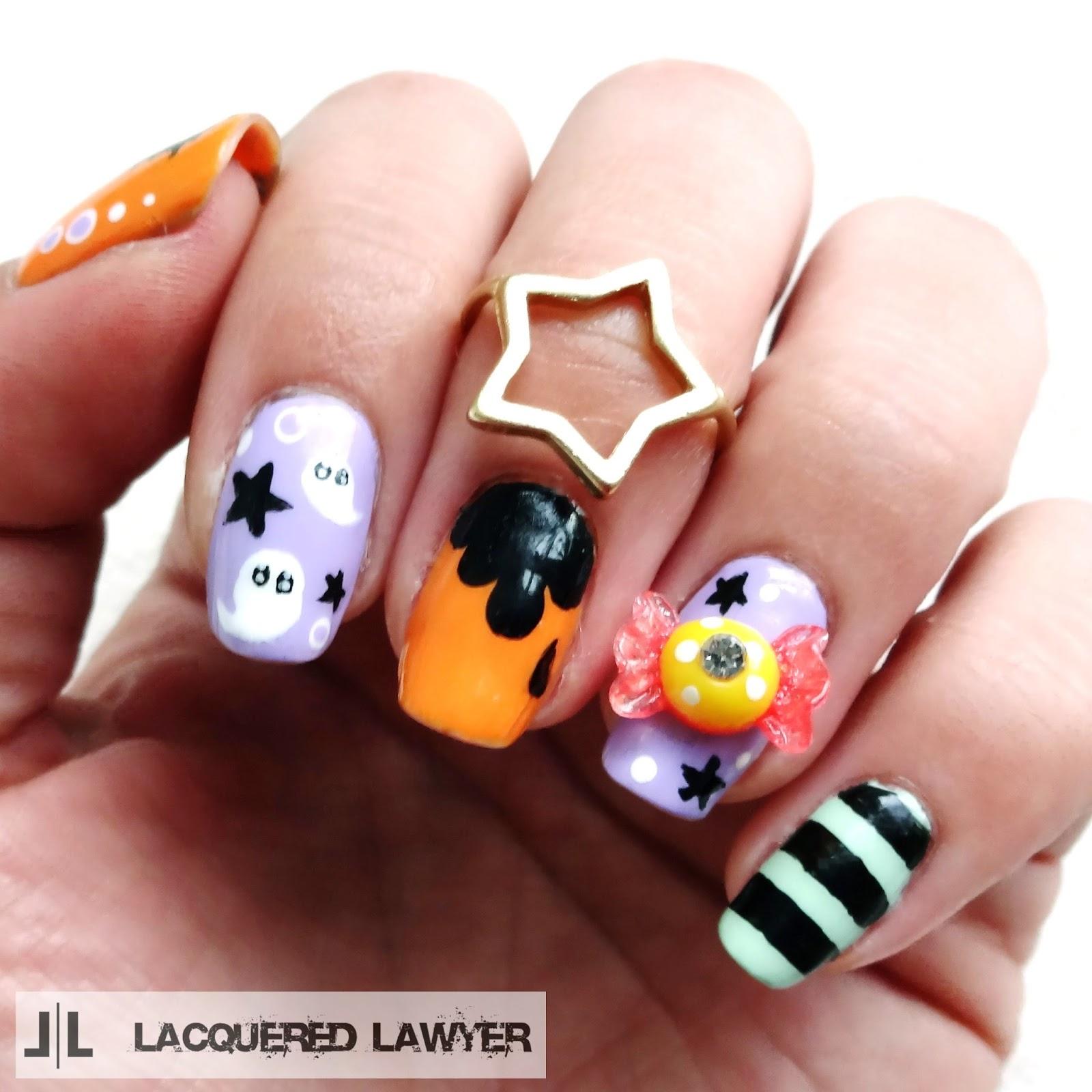 Paranormal Pastel Nails