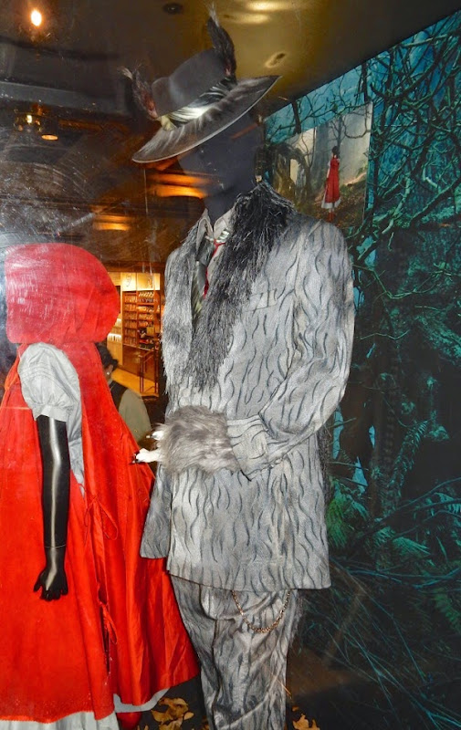 Johnny Depp Wolf Into the Woods costume
