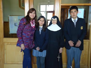 Entrega de útiles de aseo para Hogar Nuestra Señora De Andacollo