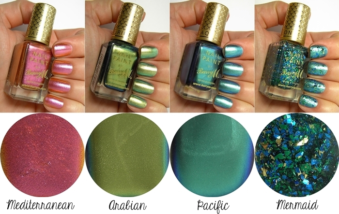 Barry M Aquarium Nail Effects