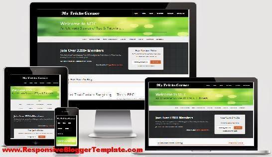 MyTricksCorner V2 Responsive Blogger Template