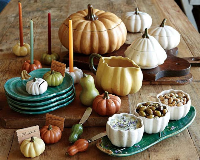 It 39 s written on the wall how to decorate your for Pottery barn thanksgiving