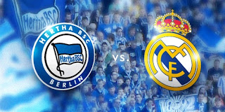 Hertha Berlin vs Real Madrid
