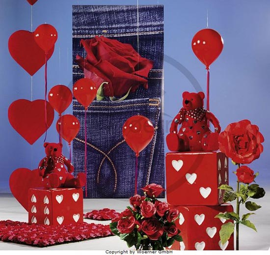Decoraci n de tiendas en san valentin luzmy decoration - San valentin decoracion ...