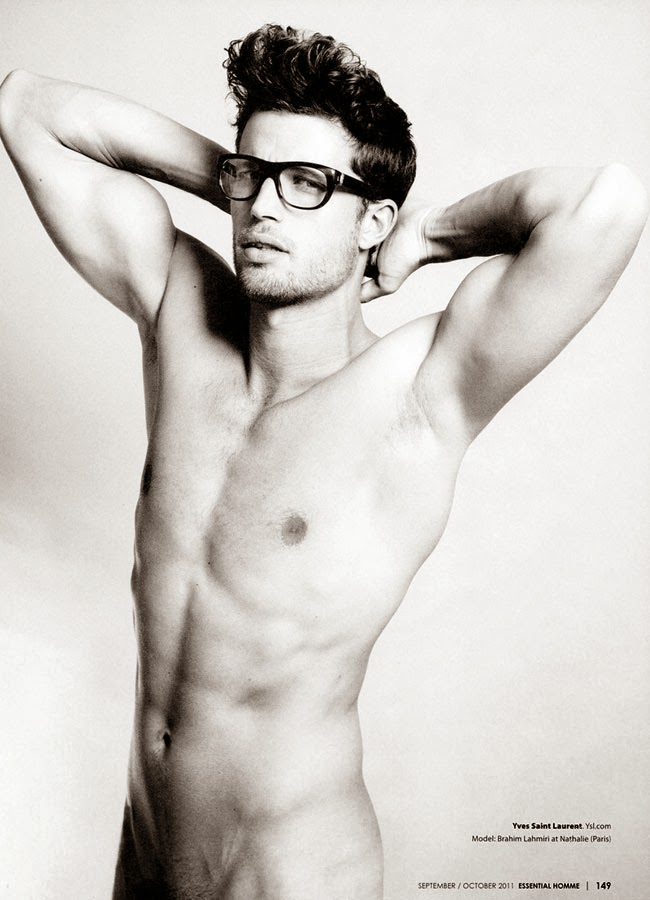 brahim in spectacles for essential homme