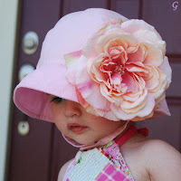 Kids Pictures & Baby Images Pink Flower Cap