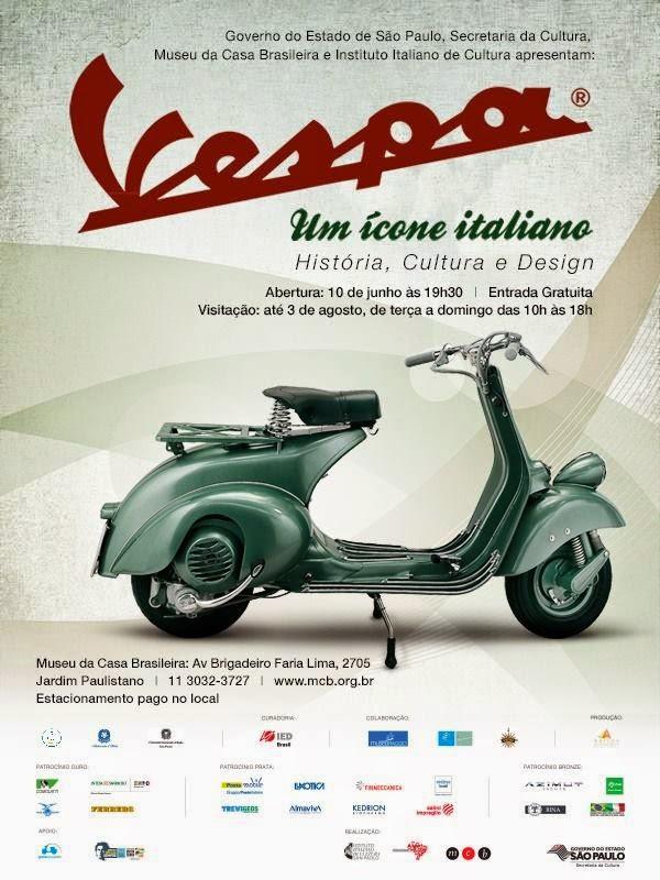 Mostra: Vespa, Um Ícone Italiano