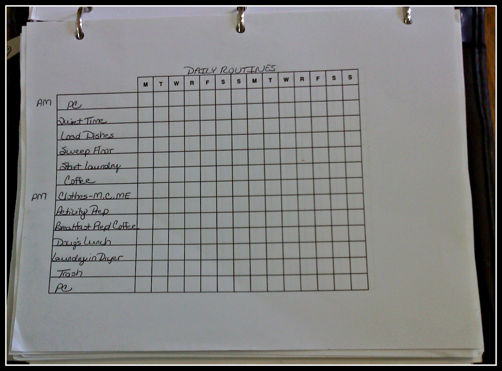 Free Printable Medication List Template Then there's my printable list