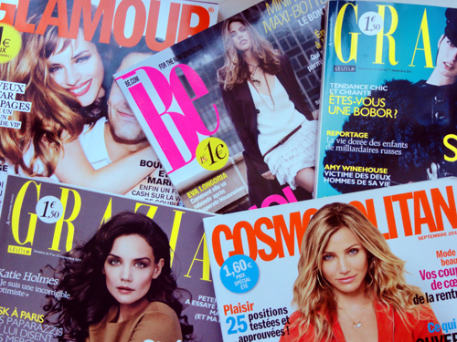 magazines feminins
