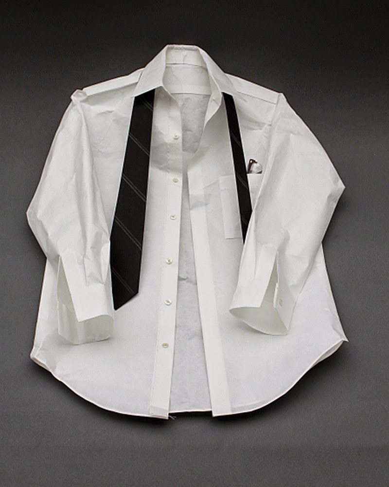06-Shirt-&-Tie-Vincent-Tomczyk-Personalities-of-Objects-in-Paper-Sculptures-www-designstack-co