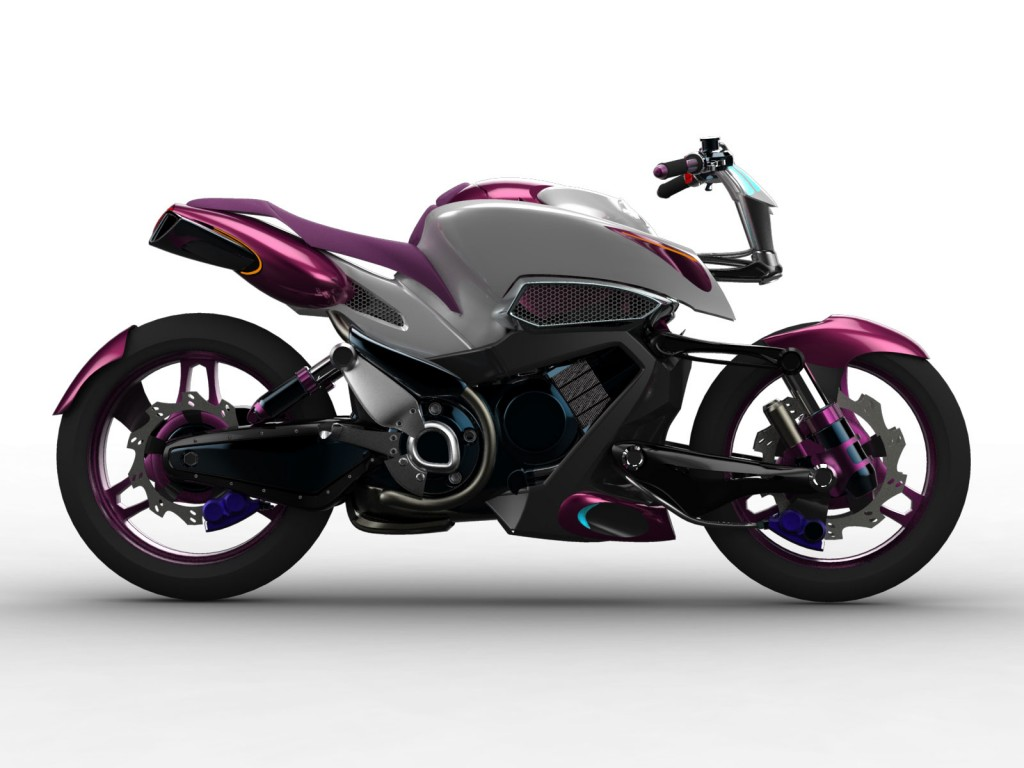 Yamaha Mth 500 Motorbike Concept By Stephane Fougere