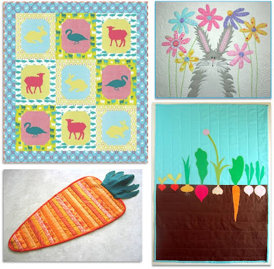 Easter Egg Gala | Quilt Patterns & Blocks | Angie's Bits 'n Pieces