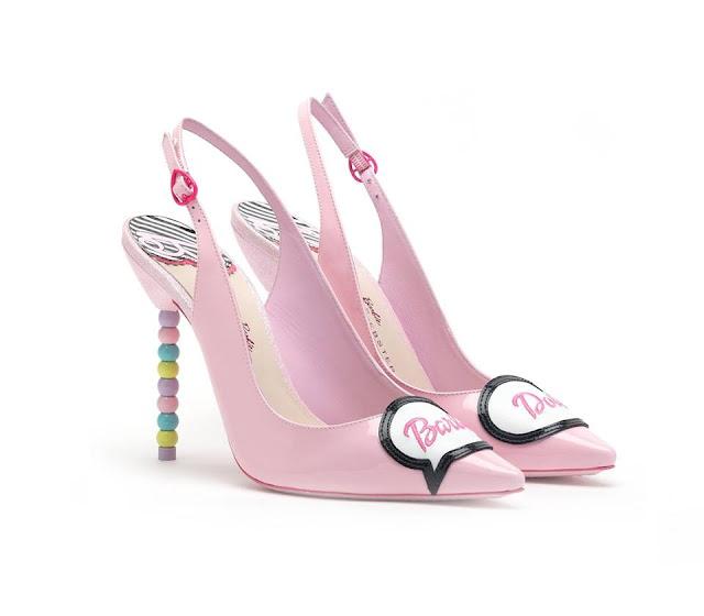 sophia webster em parceria com a barbie
