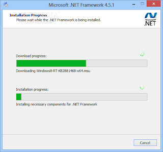 Versi-versi .NET Framework pada Windows