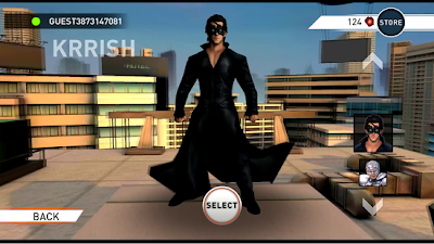 Krrish 3 game for android mobile phone