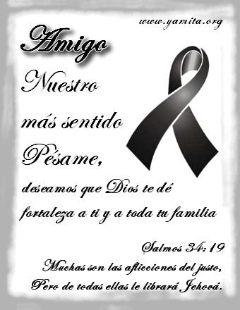 Amigo nuestro mas sentido P  same   Facebook   Imagenes Cristianas