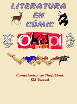 Literatura en Cómic [Revista Okapi] 12 volúmenes