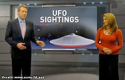 UFO SightingsReported Across California