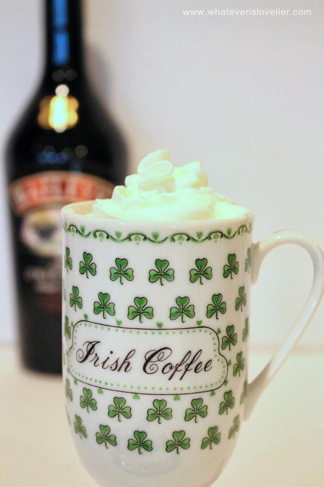 Celebrate St. Patty's Day with an Irish Coffee