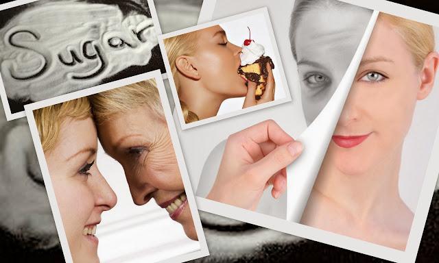 effect of suga on skin aging