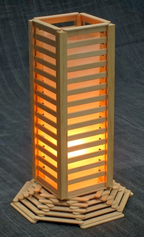 Light Tower Popsicle Stick