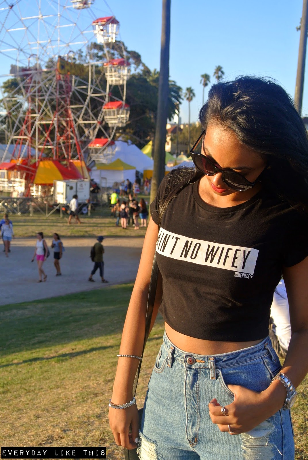 Ain't No Wifey - St Kilda Festival Melbourne dimepiece everyday like this