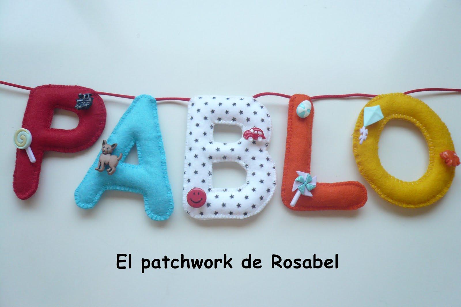 Como hacer letras de patchwork imagui - Como hacer pachwork ...
