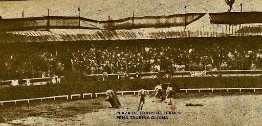 toros en llanes inauguracion de la plaza 1894