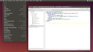Unity global menu java swing applications