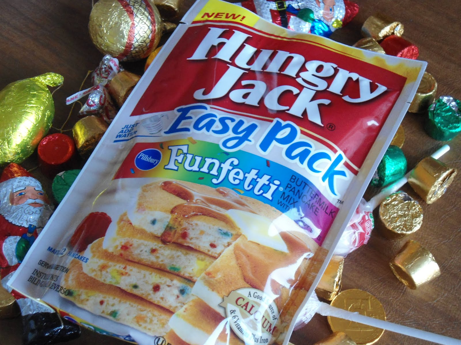 Cuisine around the world hungry jack funfetti buttermilk pancakes hungry jack the company that brought you breakfast by dad on school days when mom was busy and the australian burger king now offers up an easy pack of ccuart Gallery