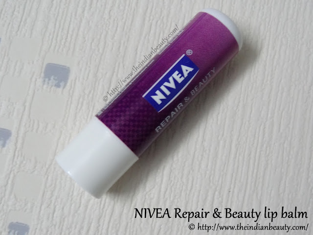 nivea repair and beauty lip balm review