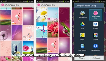 Decora tu teléfono con Wallpapers Girls for WhatsApp