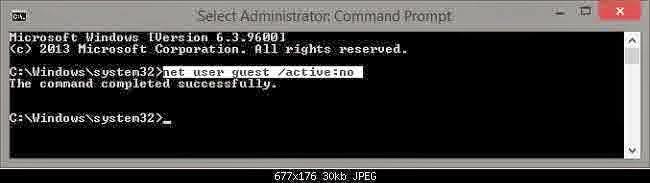 Cara Mengaktifkan Akun Guest di Windows 8 & 8.1.8