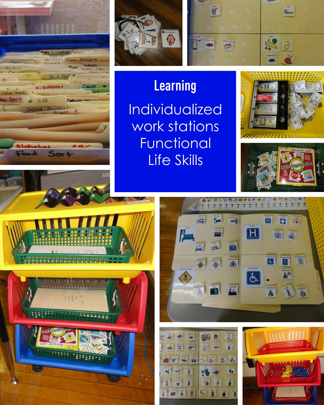 Special Education Classroom Decorations : Inside a classroom for kids with autism spectrum disorder