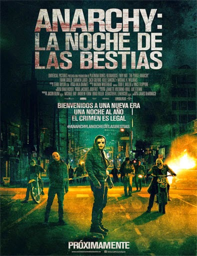 12 horas para sobrevivir (The Purge 2: Anarchy) (2014) [Cam]